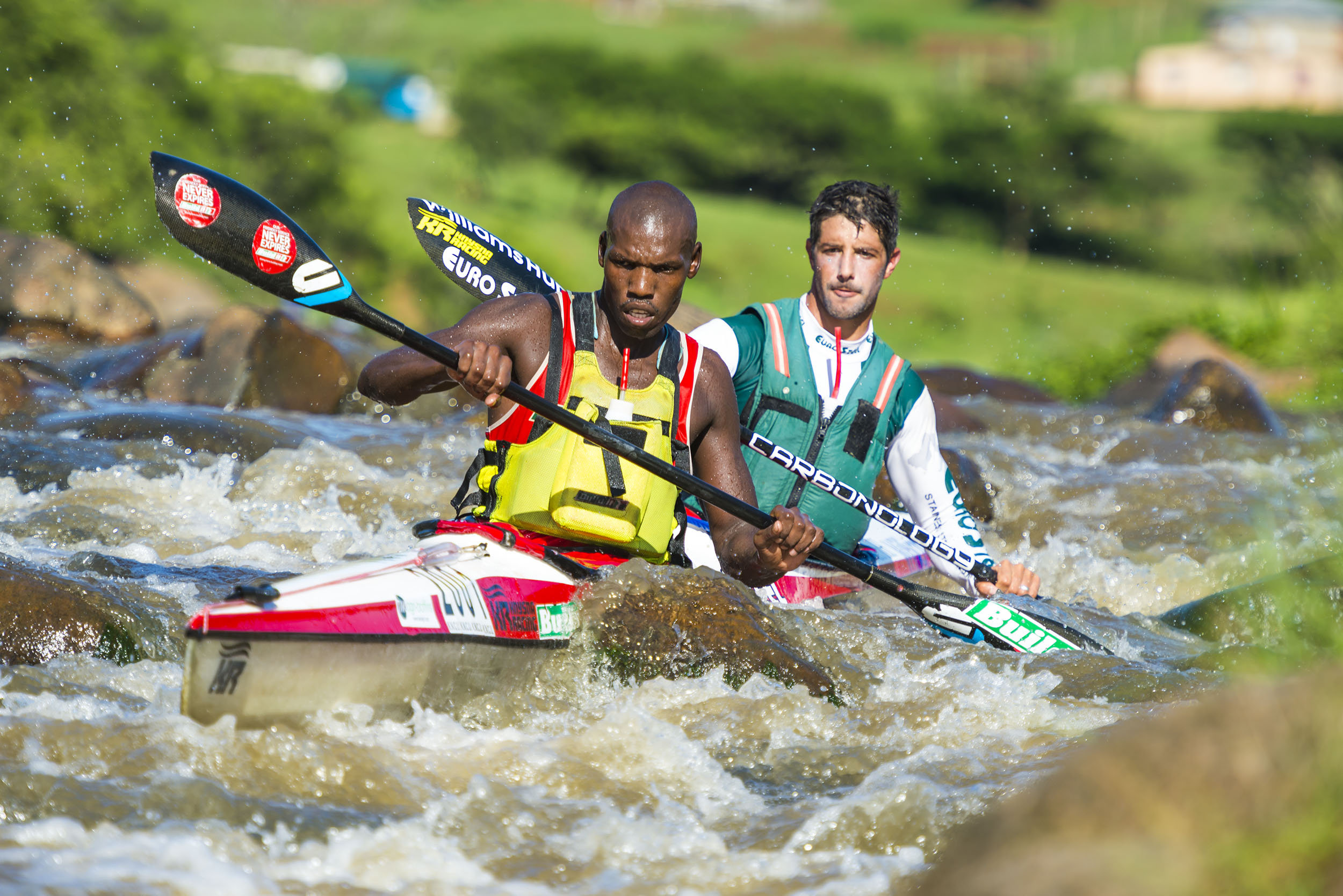 Mbanjwa and Rubenstein up their game in Dusi warm-up races