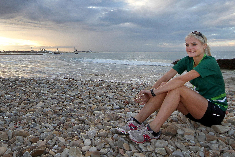 Impressive altitude half-marathon by Olympian Irvette