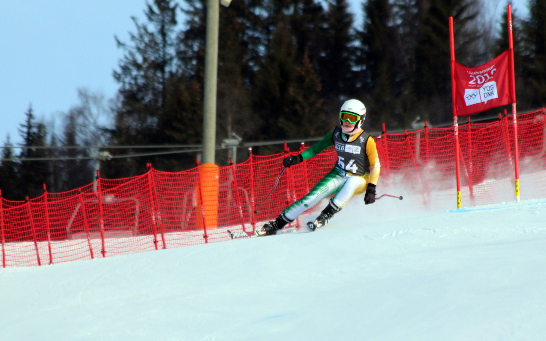 Olivier gets into Giant Slalom action for SA in Norway