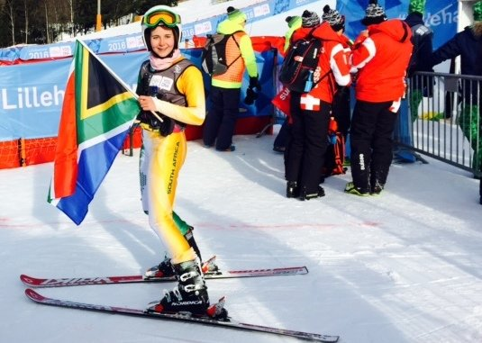 SA's Olivier takes on favourite slalom event in Norway
