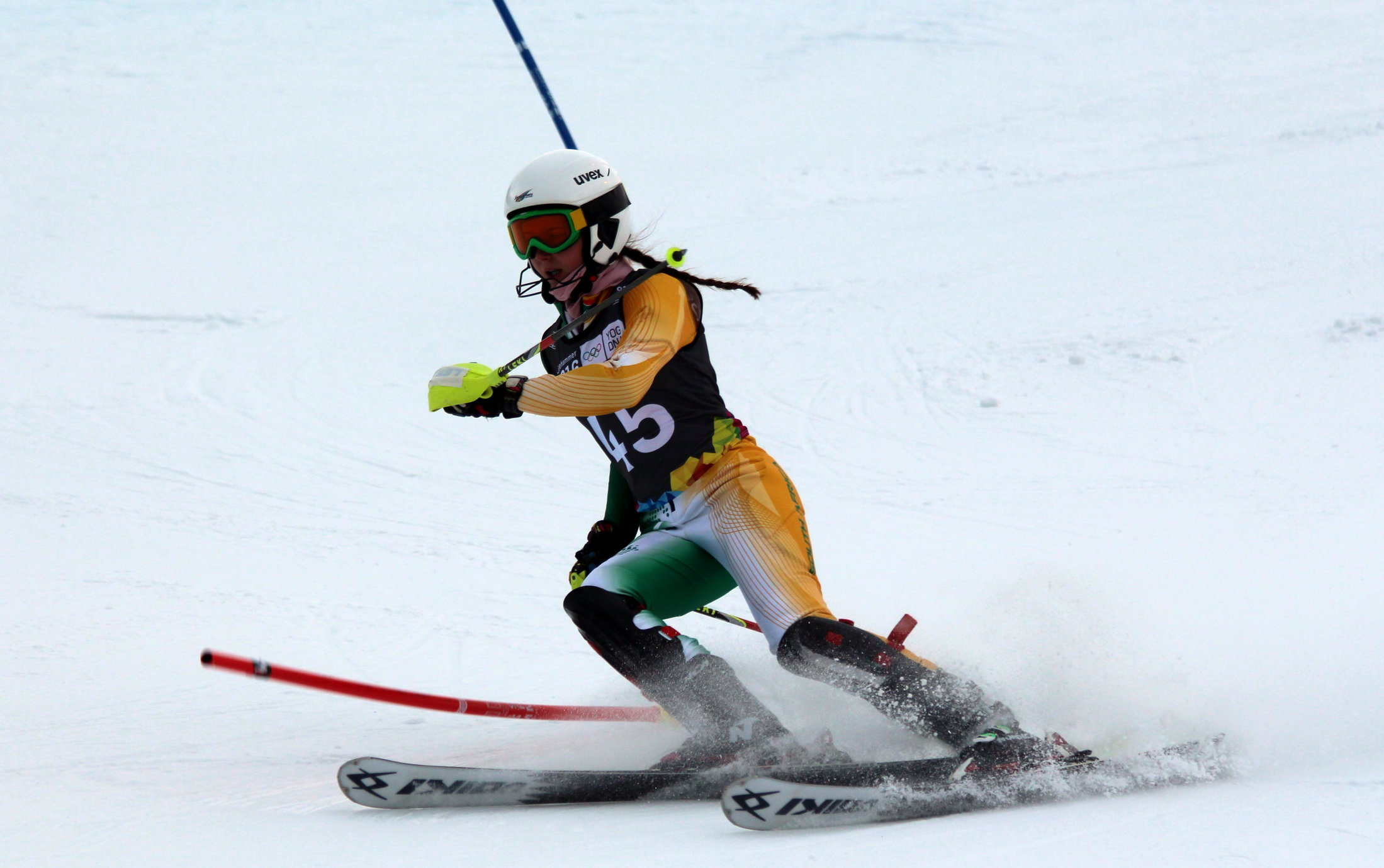 Olivier wraps up her Games with 31st spot in the slalom