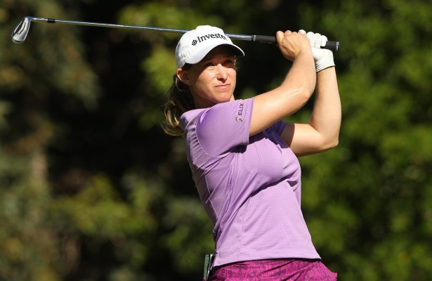 CAPE TOWN, SOUTH AFRICA - FEBRUARY 10: Stacy Bregman during day 1 of the 2016 Ladies Cape Town Open at Royal Cape Golf Club on February 10, 2016 in Cape Town, South Africa. EDITOR'S NOTE: For free editorial use. Not available for sale. No commercial usage. (Photo by Luke Walker/Sunshine Tour/Gallo Images)