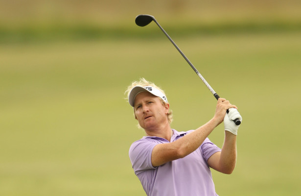 EIKENHOF, SOUTH AFRICA - FEBRUARY 25:   Andrew Curlewis during day 1 of the Eye of Africa PGA Championship at the Eye of Africa Golf & Residential Estate on February 25, 2016 in Eikenhof, South Africa. EDITOR'S NOTE: For free editorial use. Not available for sale. No commercial usage. (Photo by Luke Walker/Sunshine Tour/Gallo Images)