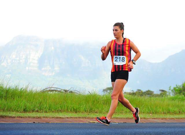 Oosthuizen strides after her dreams in Dudince