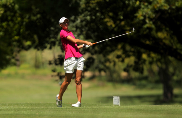 JOHANNESBURG, SOUTH AFRICA - MARCH 02:  Bertine Strauss during day 1 of the 2016 SuperSport Ladies Challenge at Huddle Park Golf Course on March 02, 2016 in Johannesburg, South Africa. EDITOR'S NOTE: For free editorial use. Not available for sale. No commercial usage. (Photo by Petri Oeschger/Sunshine Tour/Gallo Images)