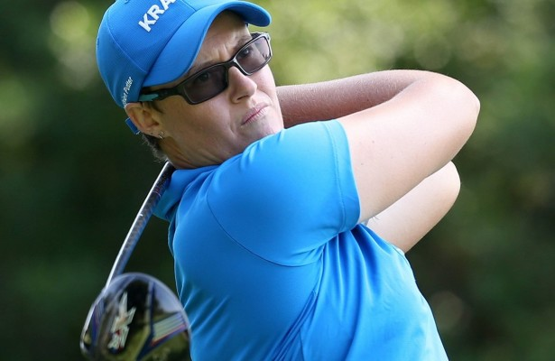 JOHANNESBURG, SOUTH AFRICA - JANUARY 19: Monique Smit during day 2 of the 2016 Joburg Ladies Open at Royal Johannesburg and Kensington Golf Course on January 19, 2016 in Johannesburg, South Africa. EDITOR'S NOTE: For free editorial use. Not available for sale. No commercial usage. (Photo by Carl Fourie/Sunshine Tour/Gallo Images)
