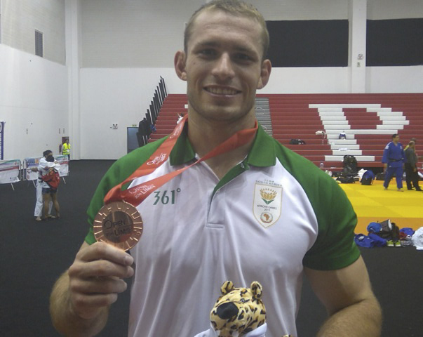 Piontek brings back a bronze medal from Peru