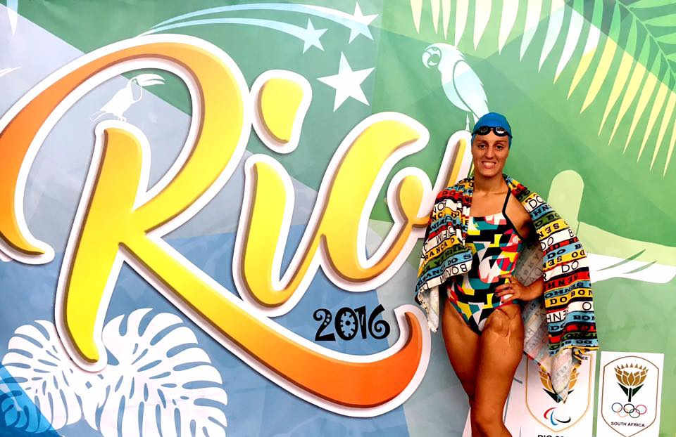 It's shoulder to the wheel as Sapiro readies herself for Rio