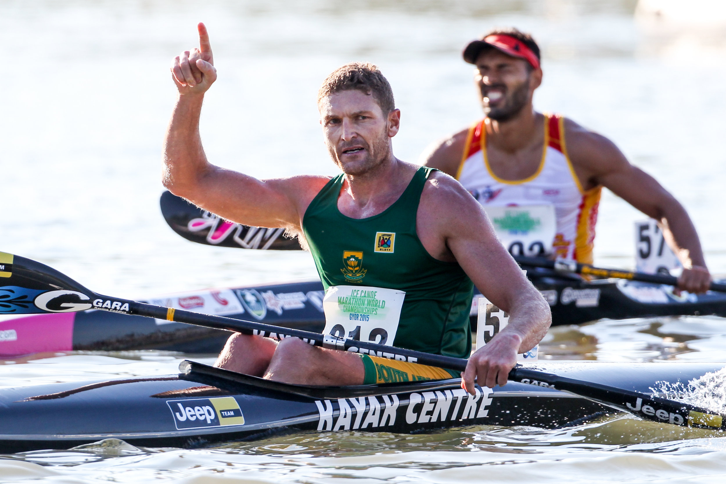 McGregor, Hartley are SA's paddle stars of 2015
