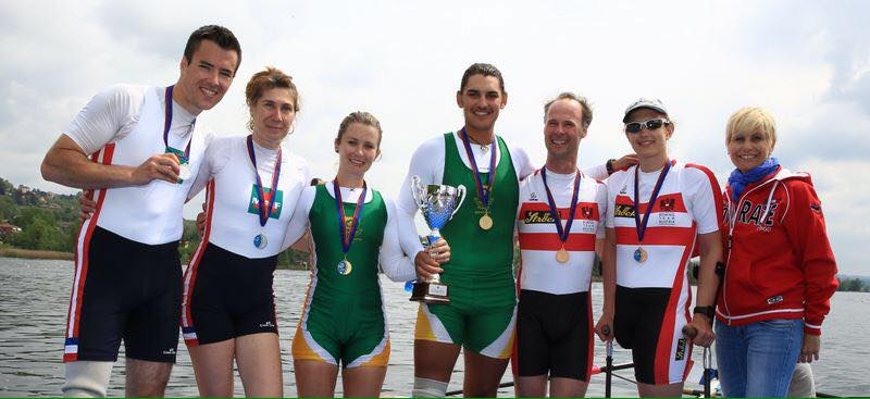 Double medal success for SA rowers in Italy