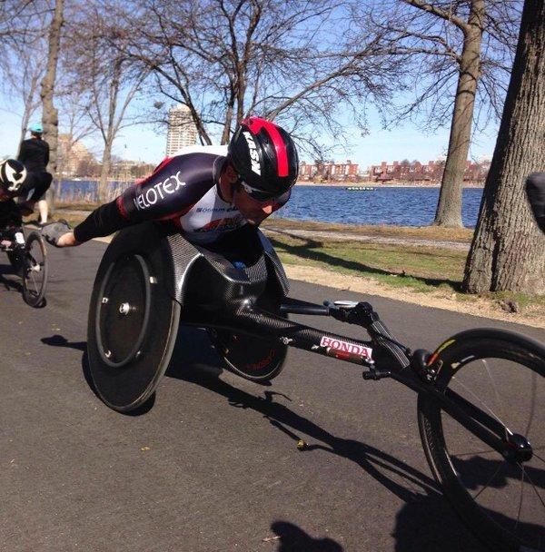 Van Dyk out to increase his Boston Marathon legacy