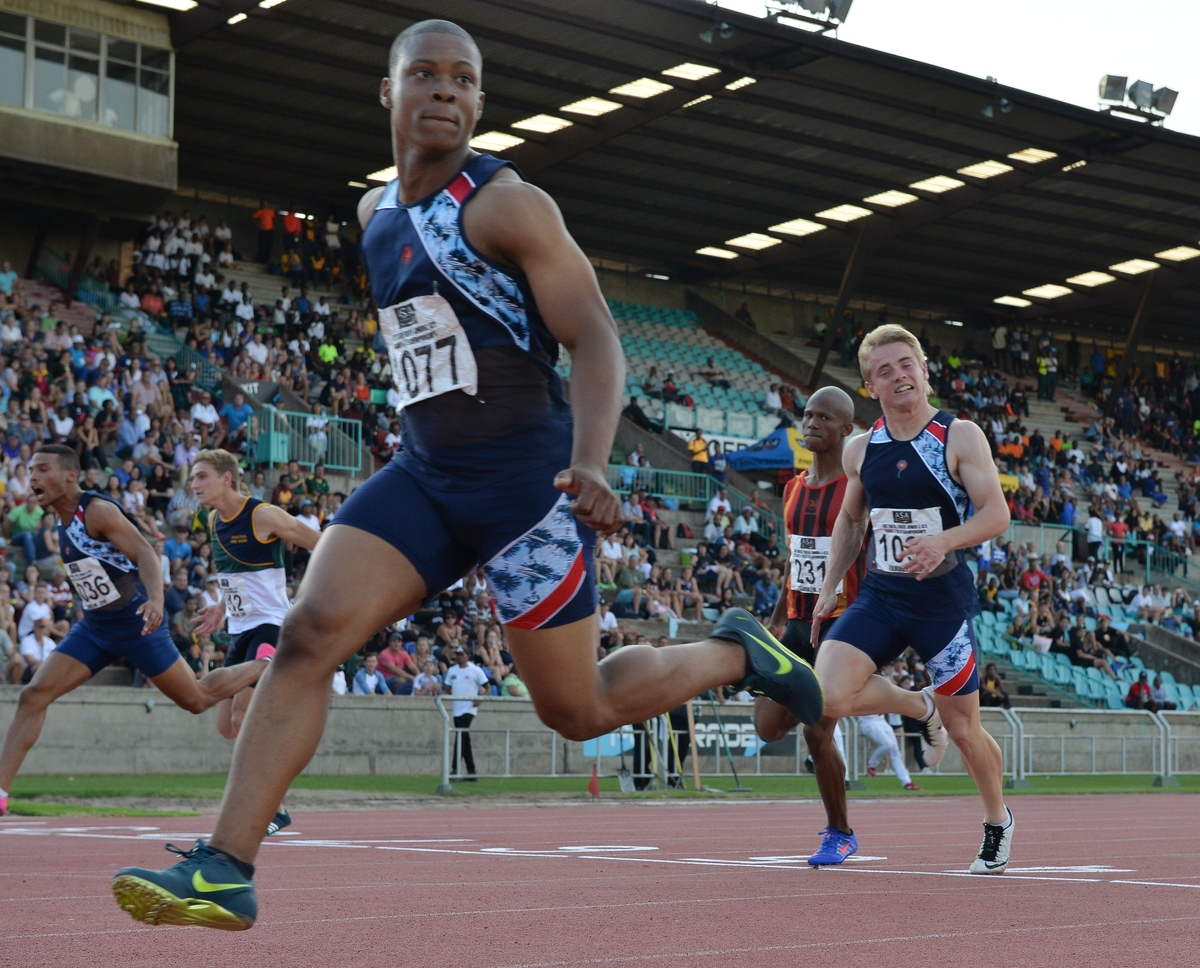 Sprinters Roto, Leotlela star at nationals