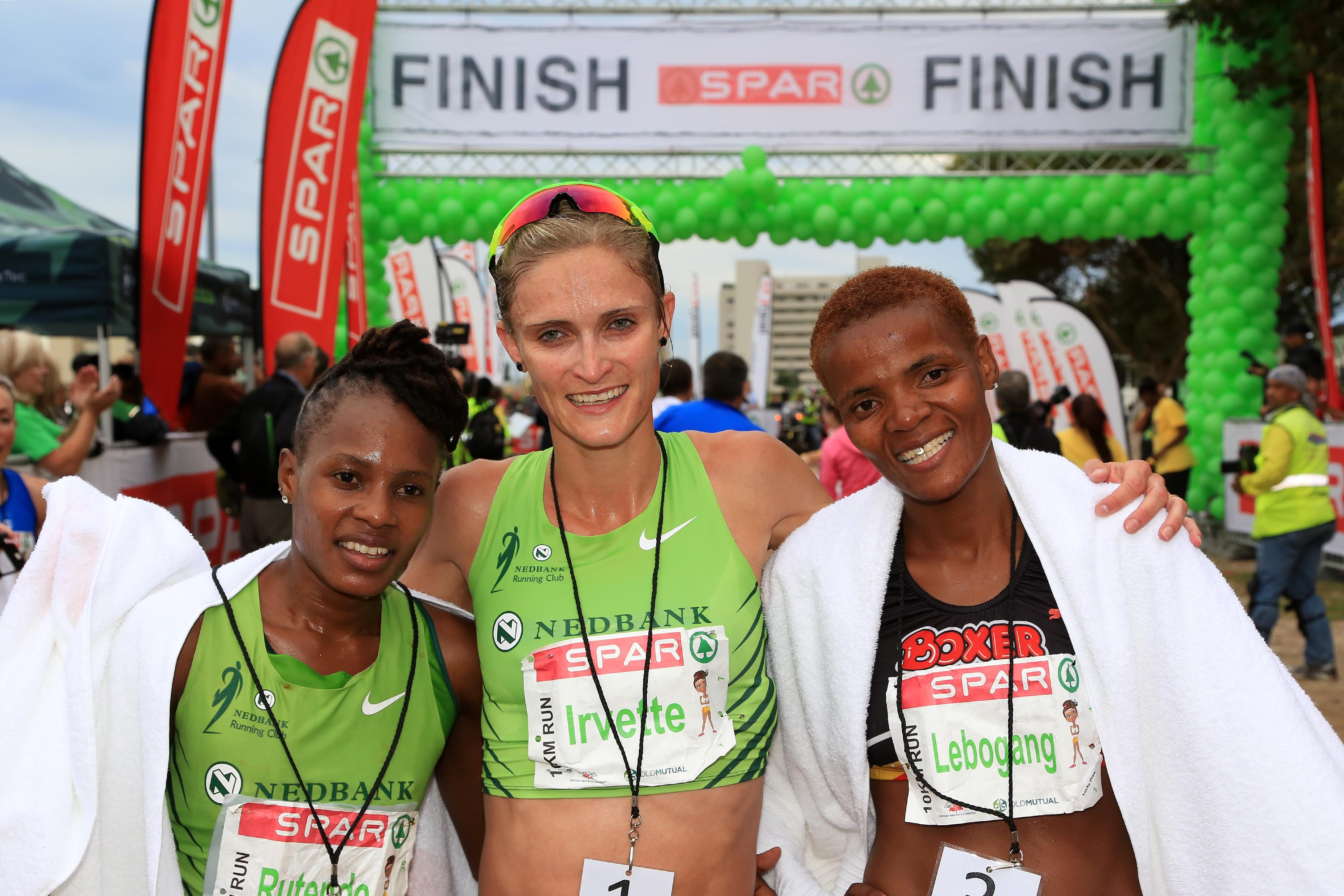 Van Zyl maintains fine run of form in 10km Challenge... now for London!