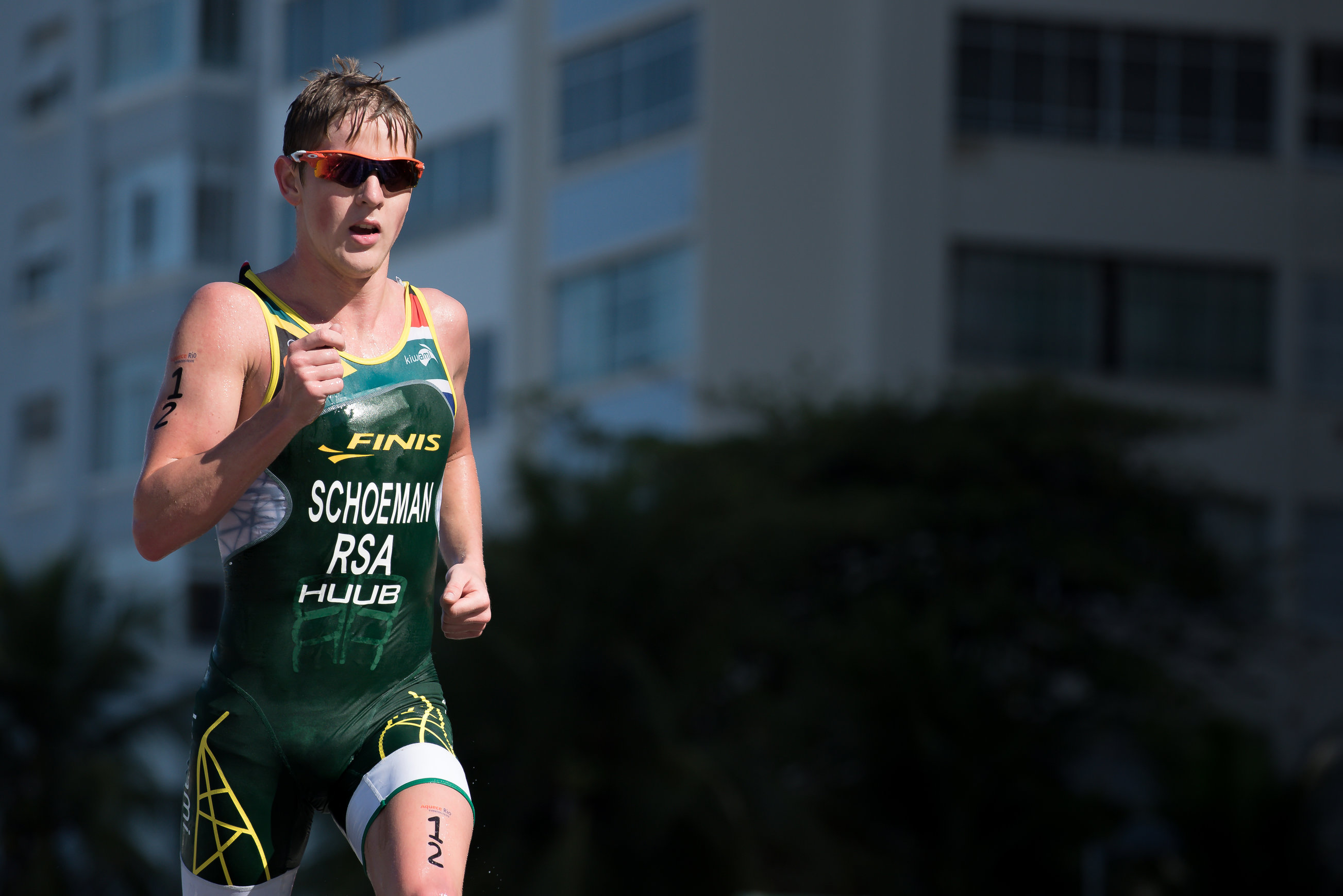 Schoeman all set for sprint event... and Sanders also jets in