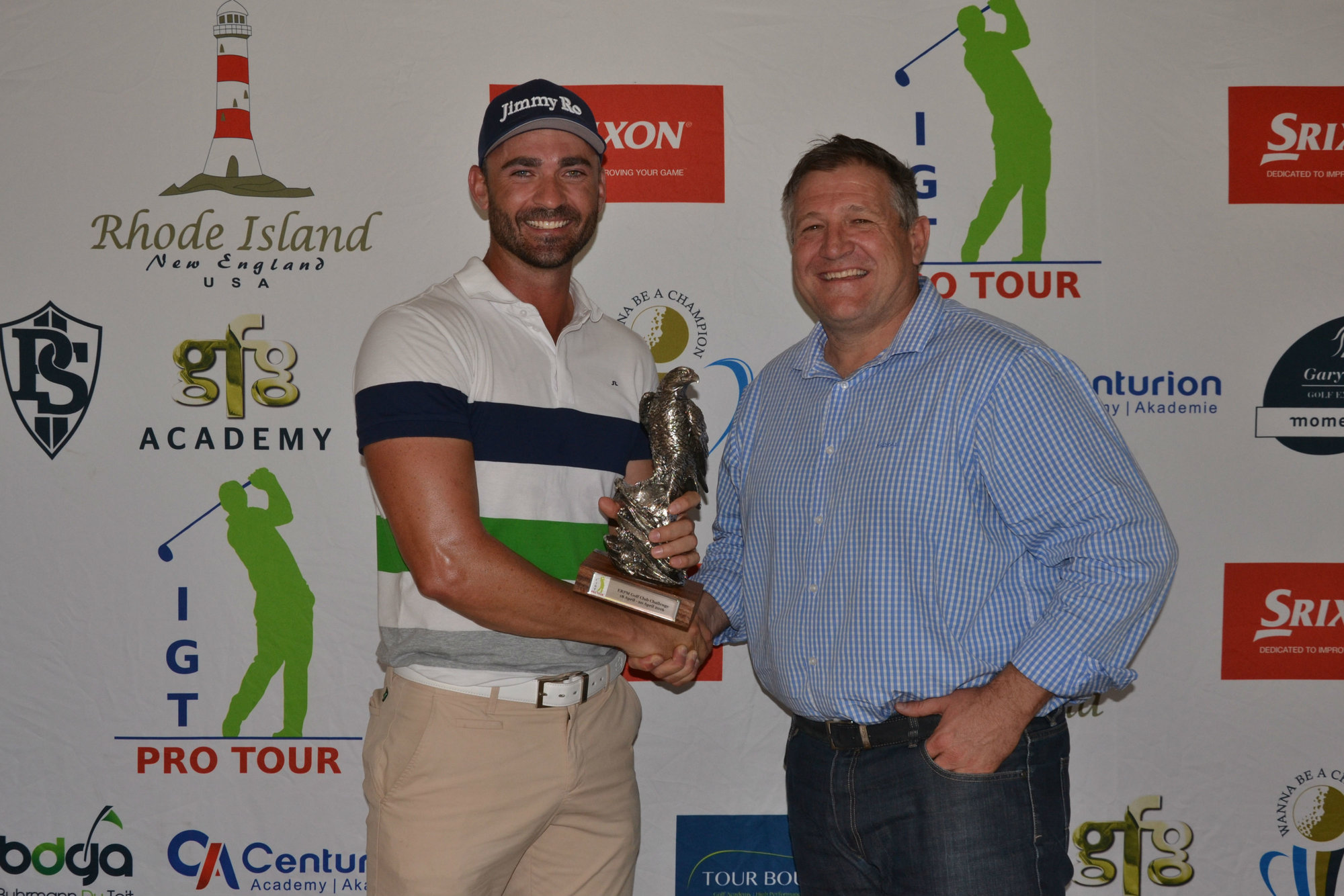 All hail Haig as he breaks a three-year trophy drought