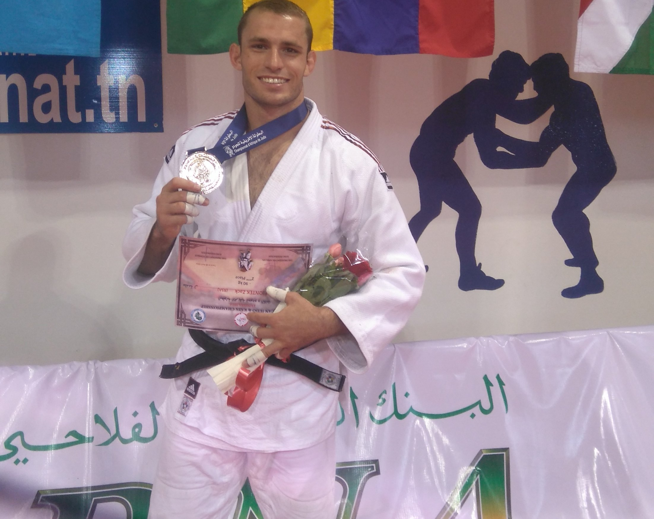 Piontek takes silver in Tunisia to take another step closer to Rio