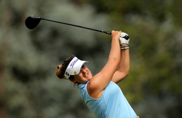 JOHANNESBURG, SOUTH AFRICA - MARCH 04: Nicole Garcia during day 3 of the 2016 SuperSport Ladies Challenge at Huddle Park Golf Course on March 04, 2016 in Johannesburg, South Africa. EDITOR'S NOTE: For free editorial use. Not available for sale. No commercial usage. (Photo by Petri Oeschger/Sunshine Tour/Gallo Images)