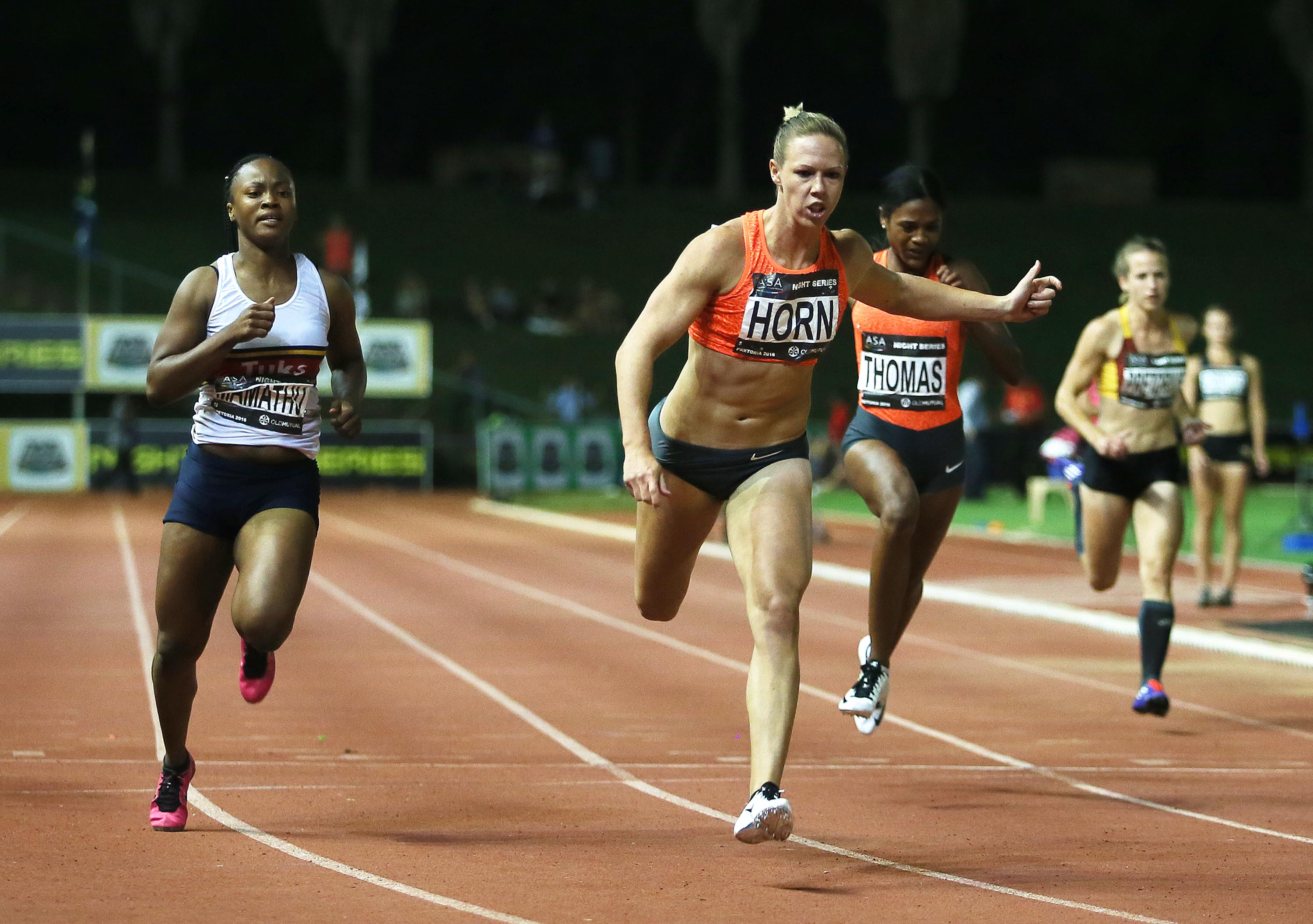 Horn has unfinished business as she races in Rabat