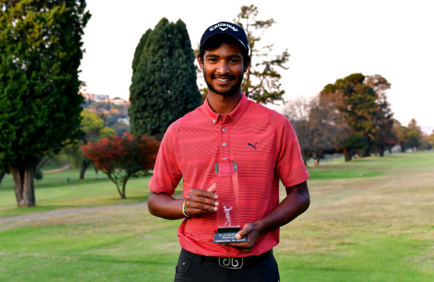 JOHANNESBURG, SOUTH AFRICA - MAY 25:  Dylan Naidoo during day 2 of the Big Easy Tour Observatory at Observatory Golf Club on May 25, 2016 in Johannesburg, South Africa. EDITOR'S NOTE: For free editorial use. Not available for sale. No commercial usage. (Photo by (Photo by Johan Rynners/Sunshine Tour/Gallo Images)