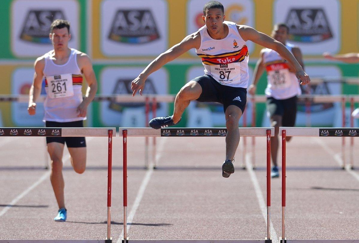 Hanekom on a high after a Rio 2016 hurdles qualification