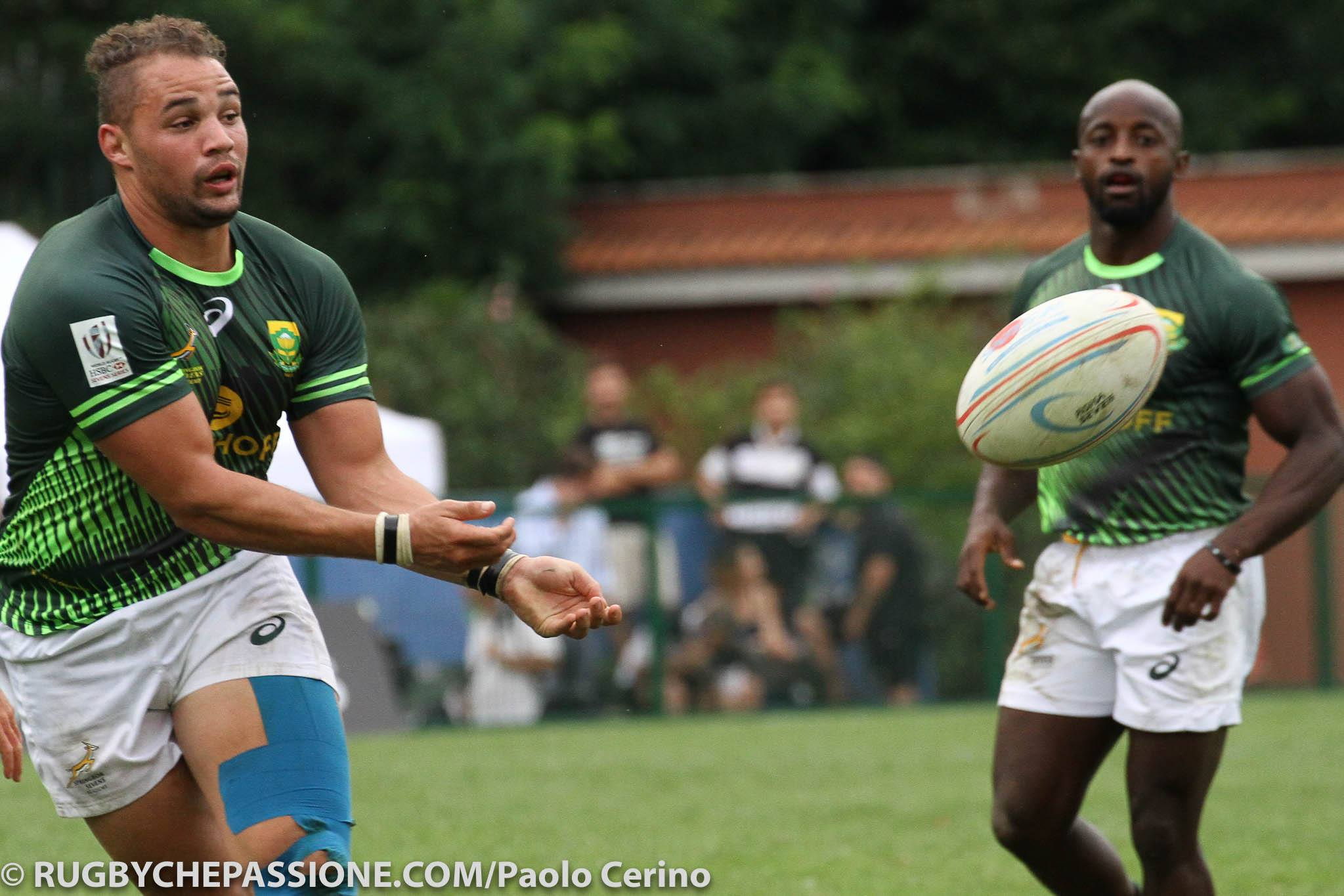 Double triumph for SA sevens sides in Rome