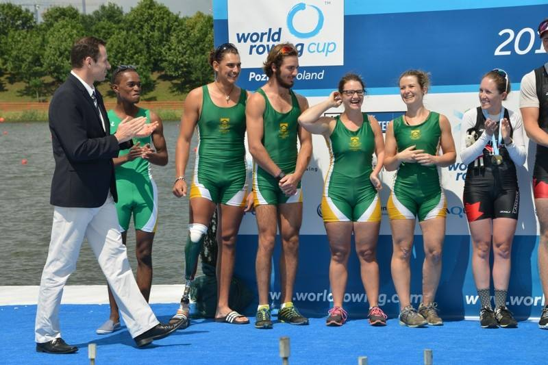 SA boats building up towards Rio with some hard racing in Poland