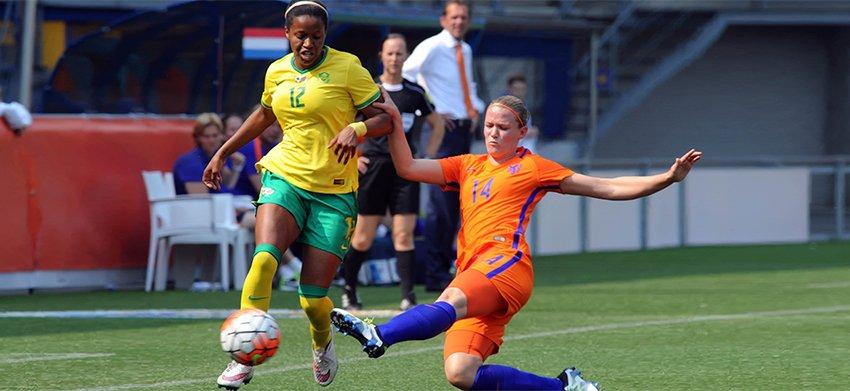 Van Wyk takes plenty of positives out of Bafana's narrow loss