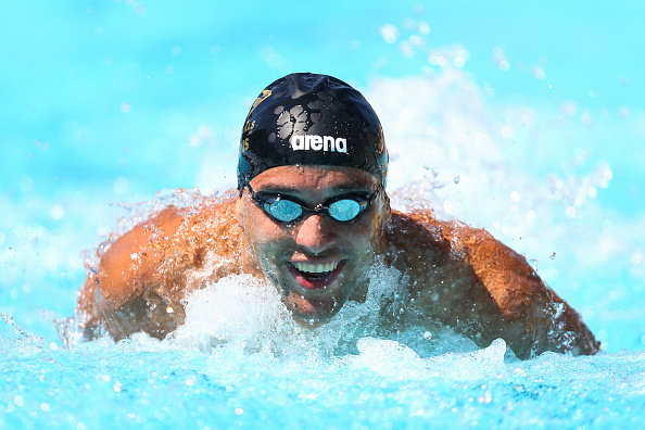 Chad Le Clos of South Africa in action during the 100m butterfly during the Mare Nostrum at Canet Natation on June 8, 2016 in Canet-en-Roussillon, France. (Photo by Manuel Blondeau/Icon Sport) (Photo by Manuel Blondeau/Icon Sport via Getty Images)