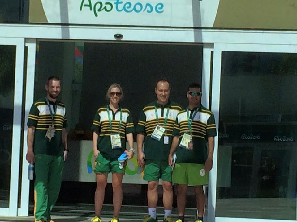 Team SA start moving into Athletes' Village at Rio Olympics