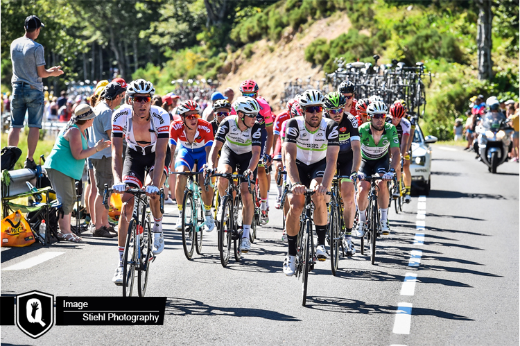Pauwels flies the flag for Africa's TDF team on stage six