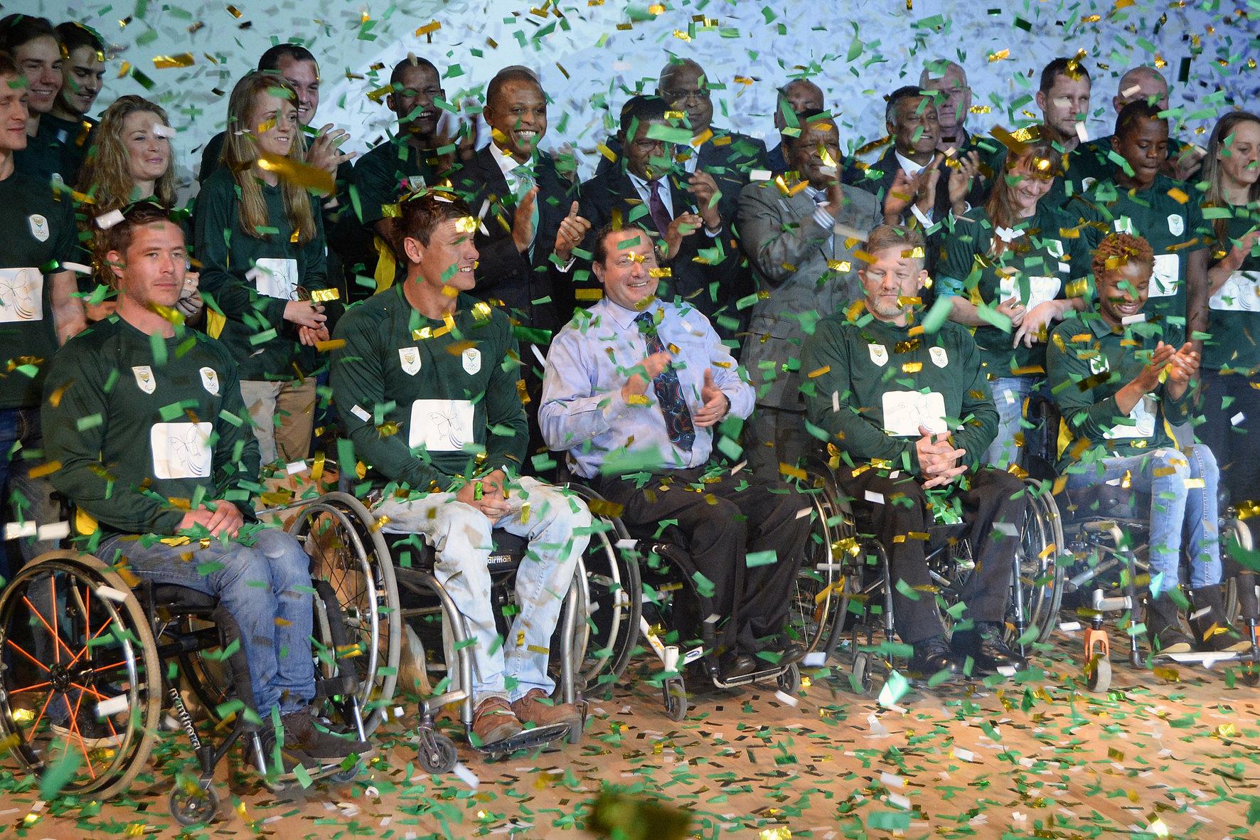 Team SA's 2016 Paralympians rejoice ahead of Rio!