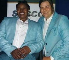 Wayde, Zanele named as SA flagbearers at Rio send-off