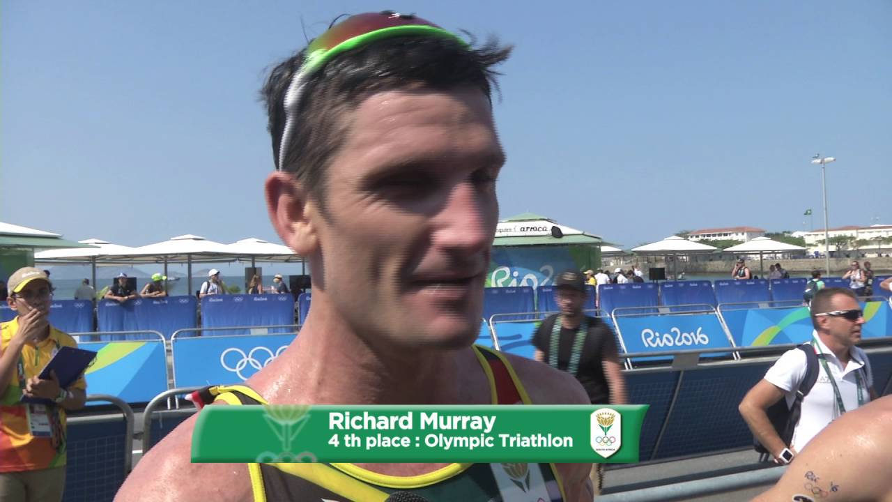 Richard Murray on his 4 th place
