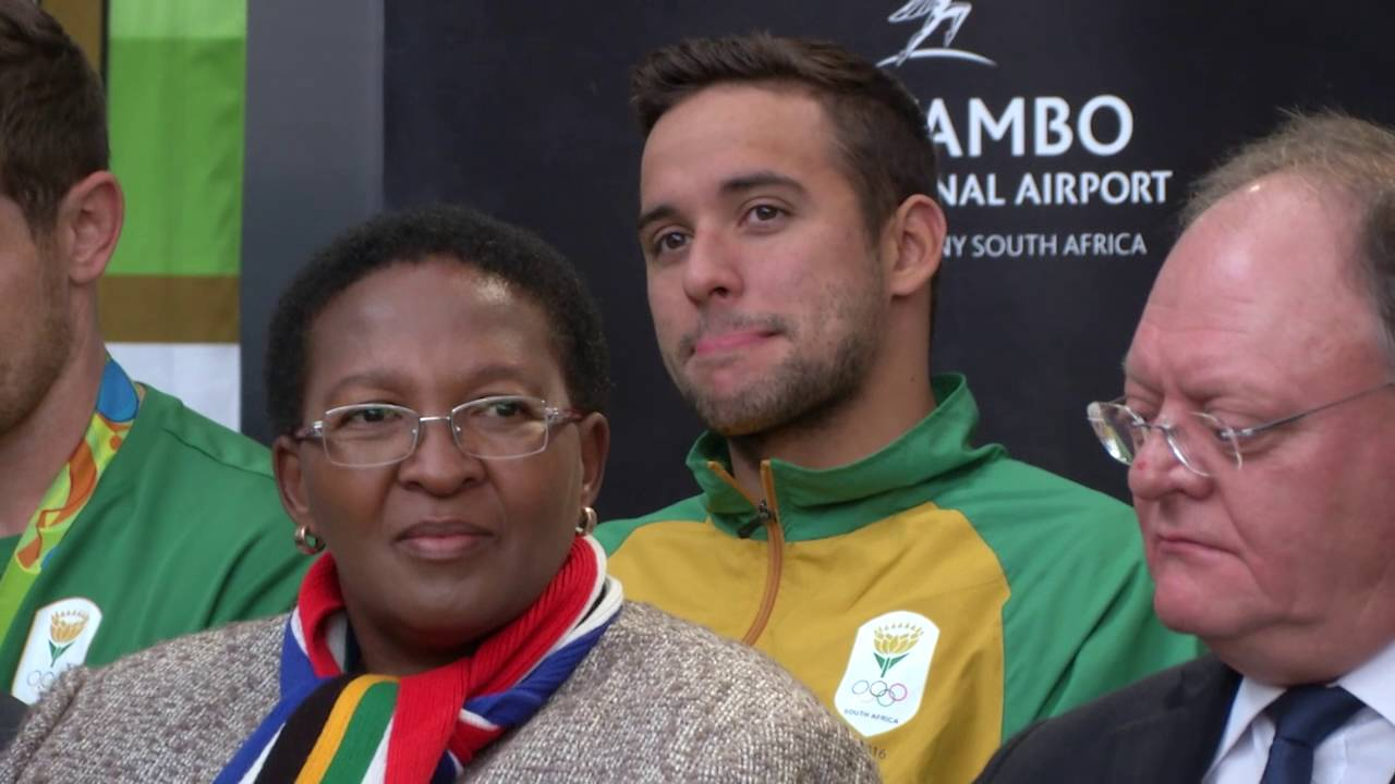 Heroes welcome for Team SA