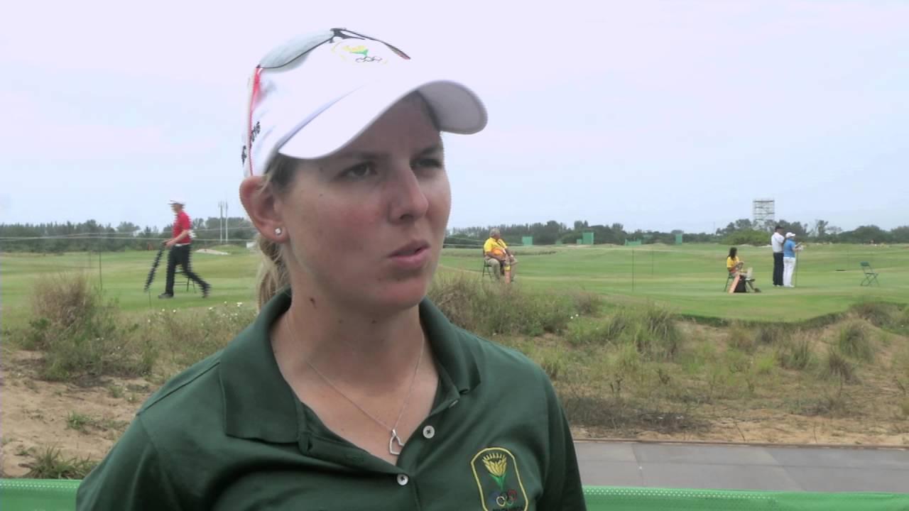 SA Women's Golfers on Olympics