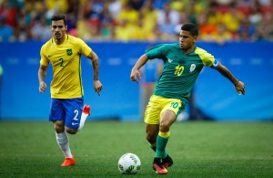 Olympics - 2016 Rio Olympic Games  - Mens Football - Brazil v South Africa - Mane Garrincha stadium - Brasilia - Brazi