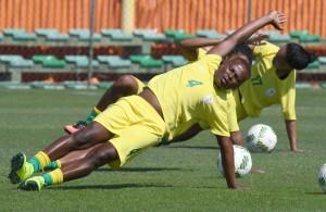 Noko Matlou at training in Rio