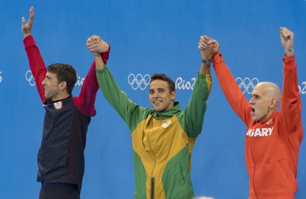 Olympic Swimming - 100m Butterfly final  - Olympicpark Stadium - Rio - Brazil