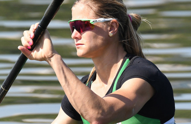 BENONI, SOUTH AFRICA. 22 JULY 2016. Bridgitte Hartley during the heats of the Women's K1 500 at Copacabana Lagoa at the Rio 2016 Olympic Games today.  Copyright picture by WESSEL OOSTHUIZEN / SASPA