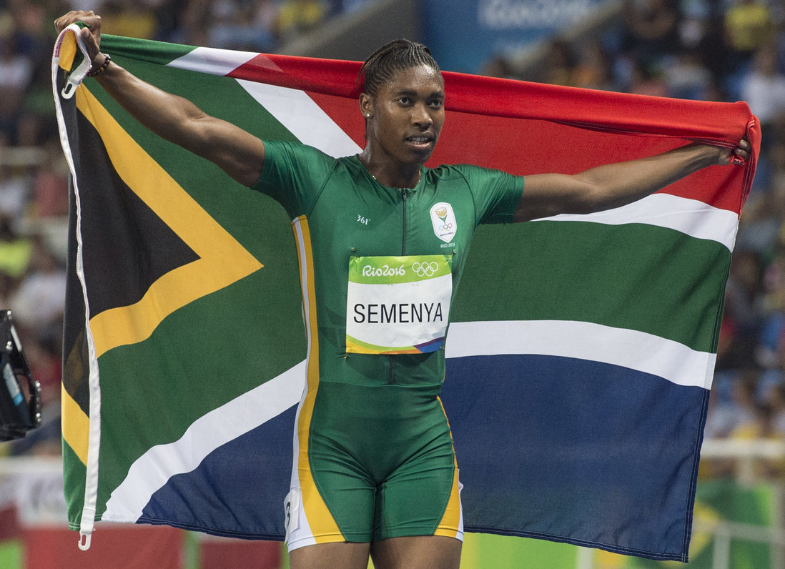 Semenya scorches to Team SA's 10th medal of the Games