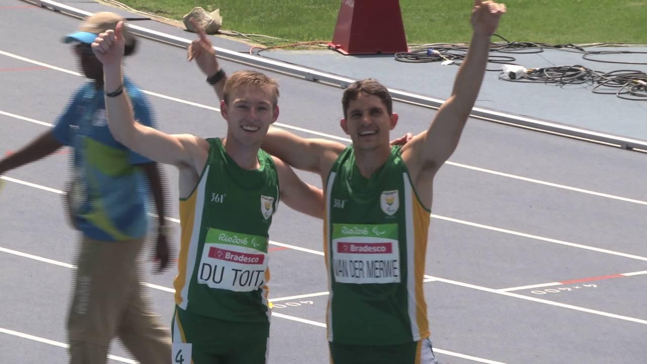 Gold & Bronze for Team SA !!