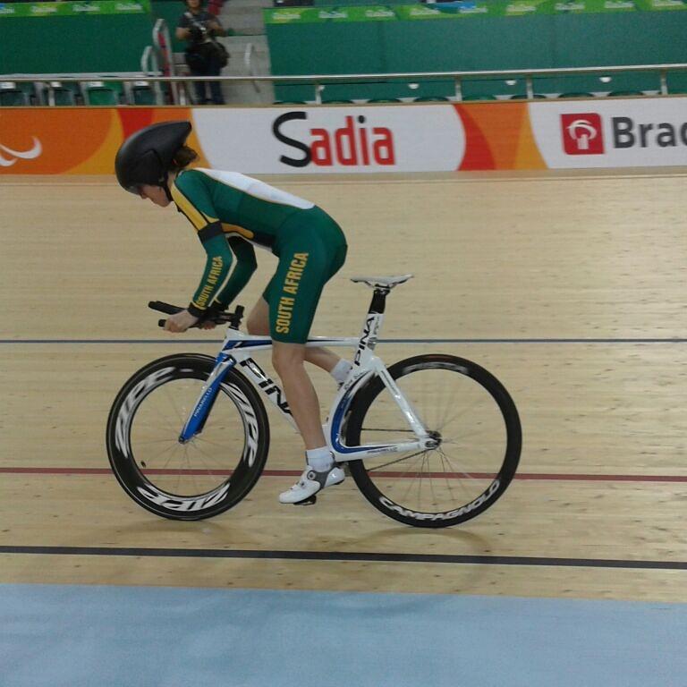Roxy ready to burn up the track at Rio Paralympics