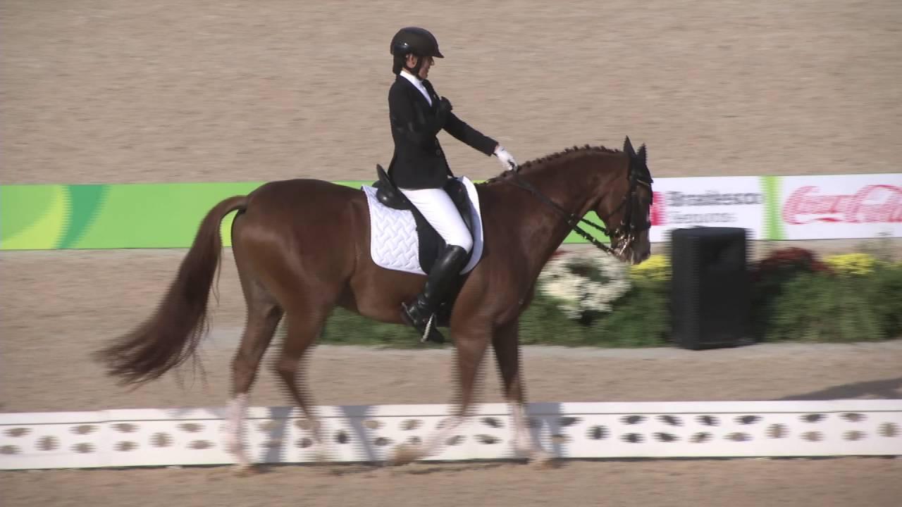 Team SA's only equestrian representative