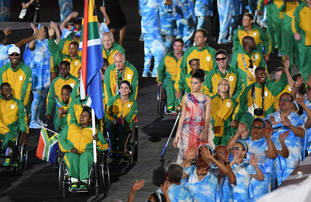 RIO DE JANEIRO, BRAZIL. 7 September 2016 Opening ceremony of the Paralympics at the Maracana Stadium in Rio de Janeiro today.   Copyright picture by WESSEL OOSTHUIZEN / SASPA