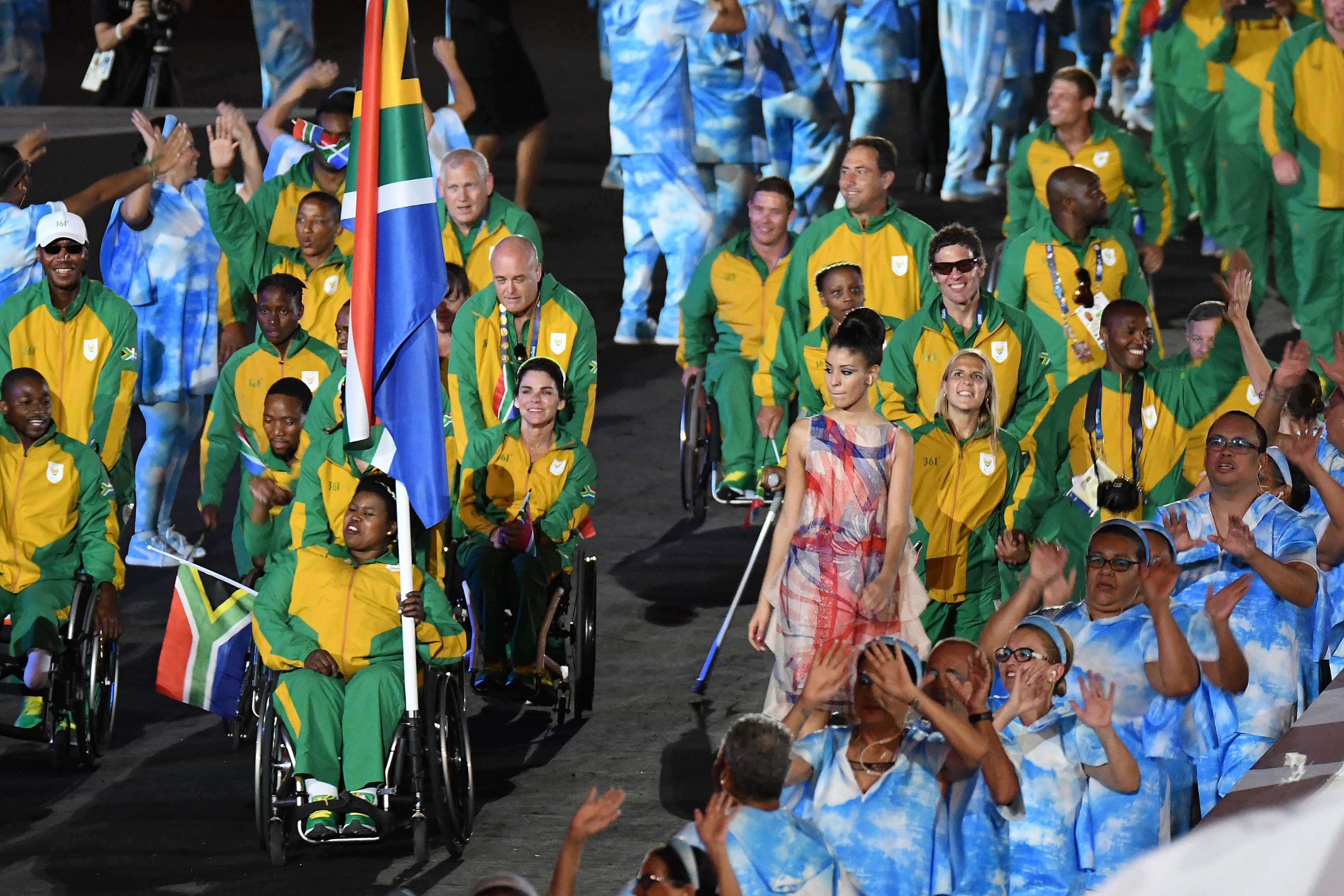 Team SA experience spectacular opening ceremony... now for the action!