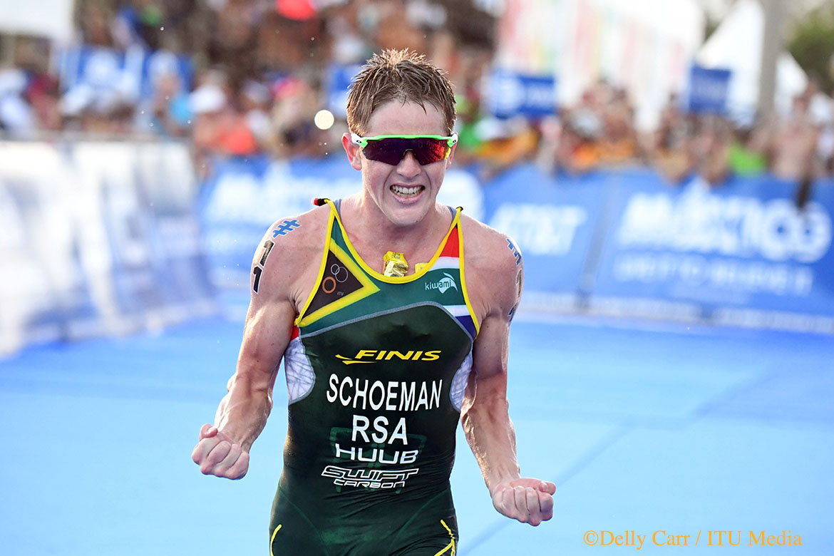 Schoeman races to maiden WTS victory in Mexico