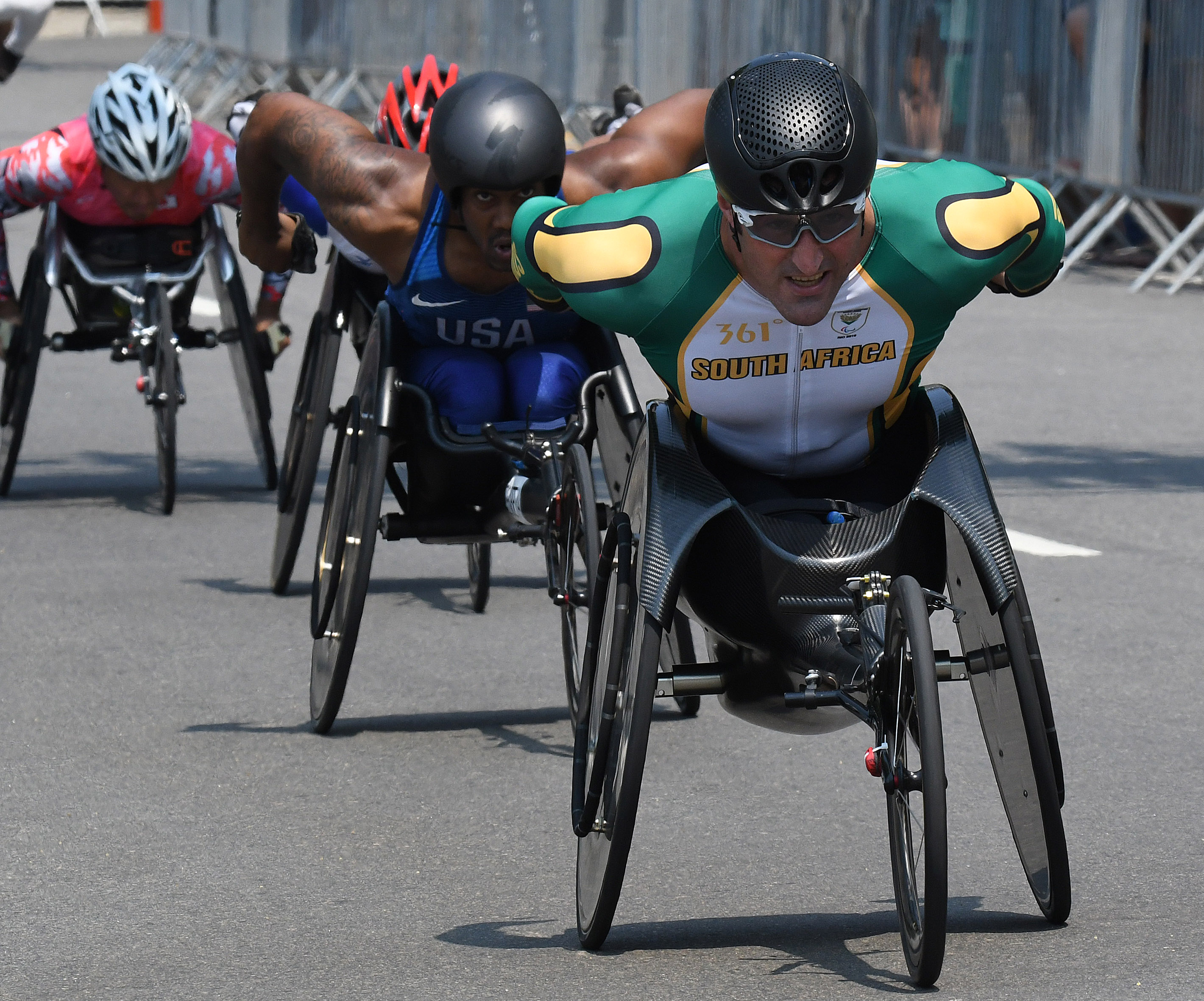 Van Dyk sixth in marathon as Team SA's 2016 Games come to an end