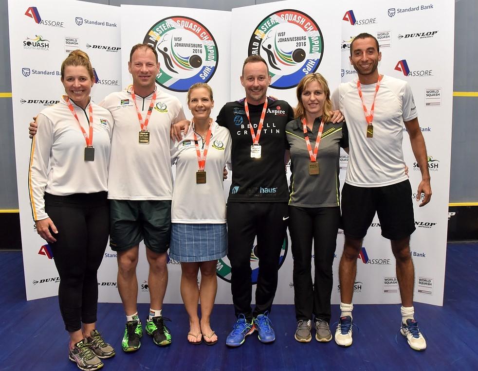 SA win three titles at World Masters in Johannesburg