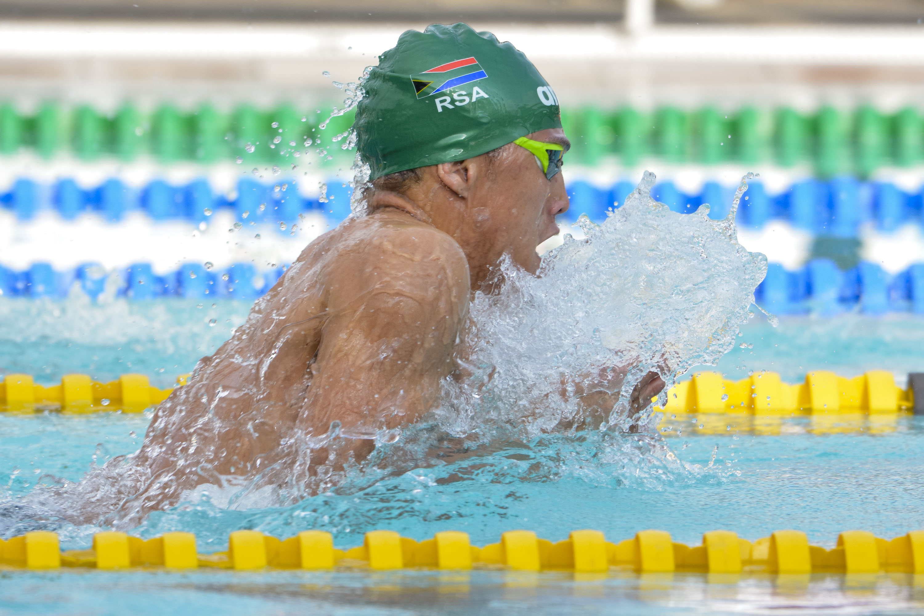 Nine medals for SA on day one of African Champs