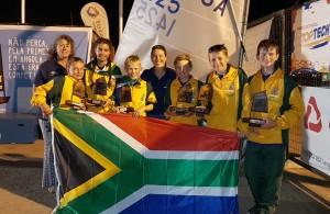 SA Optimist team